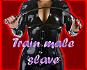 Train male slave